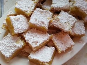 Tray of Lemon Bars