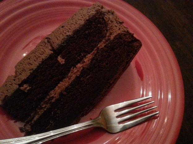 Birthdays with Chocolate Cake and Salted Caramel Milk ...
