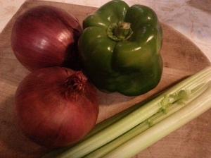 celery onions pepper