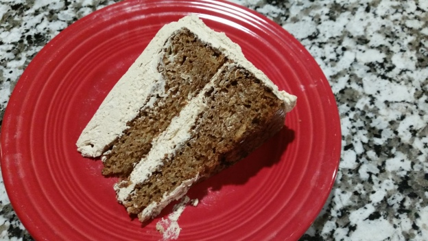 caramel apple spice cake